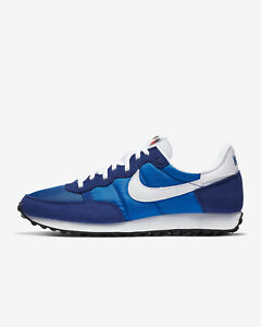 Nike Challenger OG Men's Retro Style Running Shoes Blue NEW US 9.5