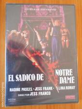 DVD EL SADICO DE NOTRE DAME - JESS FRANCO - NUEVA, PRECINTADA (DL)