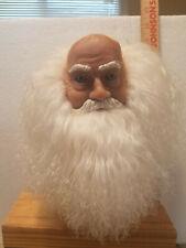 Mangelsens Porcelain ish Santa Claus Molded Doll Head Premier Porcelain'ishbeard