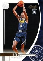 Bol Bol RC 2019-20 Absolute Memorabilia Rookie Card #2 Denver Nuggets Basketball