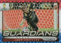 2014 Panini Prizm World Cup Soccer Guardians Red White Blue #21 Iker Casillas