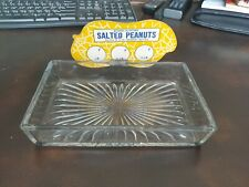 Vintage 1930s Country Store Store Counter Salted Nut Dish
