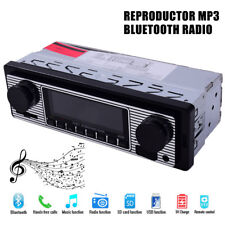 Coche Vintage Bluetooth radio estéreoMP3 Player estilo clásico MP3/USB/SD/AUX/FM