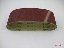 Schleifbänder 100x560mm P 40/ 80/ 120 Bandschleifer wolfcraft 9 Stück