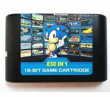 The Ultimate 830 in 1 EDMD Remix Game Cartridge For USA Japanese European SEGA