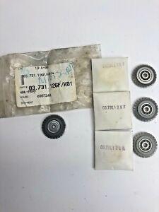 (4) Standard PERF WHEELS -GTO & M SERIES (7 TPI)  Part# 03.731.126F/K01
