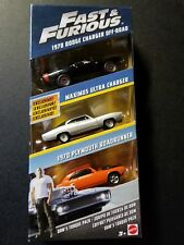 Fast and Furious Diecast Vehicle 3-Pack Dom's Torque Pack FCG02