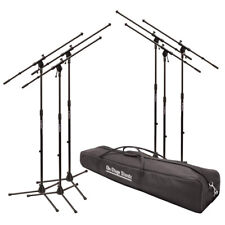 On-Stage Stands Ms7706-6 Pack (Ms7701B Euroboom Mic Stands w Carry Bag)
