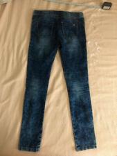 Pantaloni Leggings Skinny Donna, Stradivarius, taglia 38, Blu Scuro Oltremare