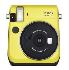 Fuji Instax Mini 70 Instant Camera with 10 Shots - Yellow (UK Stock) BNIB