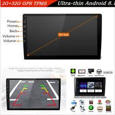 "Ultra-thin 10.1"" HD Android 8.1 Car 2GB+32GB Quad-Core Stereo Radio GPS 3G 4G BT"