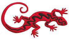 Wappen Gepatcht Gecko Lizard Salamander Exklusiv Heißklebend Patch Deko