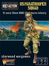 28mm Warlord Games Bolt Action US Paratrooper Squad WWII BNIB