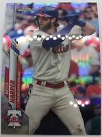 2020 Topps Chrome Base Refractor #97 Bryce Harper - Philadelphia Phillies
