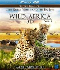 Wild Africa 3D - Part 1 (3D Blu-ray, 2013) Brand new & Sealed. Region Free
