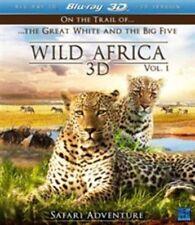 Wild Africa 3D - Part 1 (3D Blu-ray, 2013) New