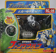 Transformers Takara Galaxy Force GC-14 FANG WOLF Black ver. Limited Edition MISB