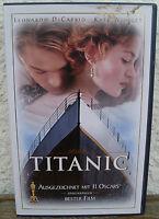 Titanic VHS Videokassetten 2 Stück gebraucht Winslet DiCaprio James Cameron