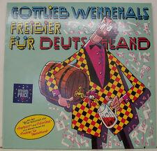 """GOTTLIEB WENDEHALS - BIÈRE GRATUITE POUR ALLEMAGNE 12"""" LP (h930)"""