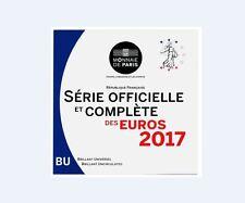2017 Miniset BU France 1ct.-2 Euros = 3,88 scellé d'origine (25.000 ex.)