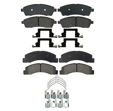 Front & Rear Ceramic Disc Brake Pad Sets Kit ACDelco For Ford F-250 Super Duty