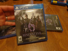 Resident Evil 6 PS4 Sony NEW FACTORY SEALED