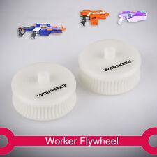 Worker Mod Flywheel Lightweight wheel Plastic white for STRYFE RAPID STRIKE