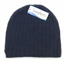 Soothers Beanie Boy's One Size navy Blue Winter Hat Casual