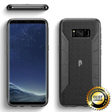 For Samsung Galaxy S8 | Poetic lightweight Slim Fit TPU Case Cover Black