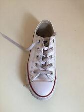 Converse All Star Zapatillas Blanco Para Niños Unisex. Talla 13