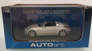 AUTOart 20501 Nissan Fairlady Z Roadster Diamond Silver