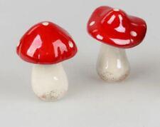 772930 Funghi Decorativi 9cm Trend-Lüster Dalla Glasiertem Terraglia Realizzato