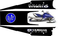 YAMAHA SNOSCOOT TUNNEL GRAPHICS wrap decals sticker ES 200 kids sled 2018 2019 2