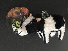 Ruff Play Plush Buddies Cow Dog Toy 30cm