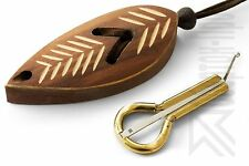 """Altay Jew's Harp by P.Potkin: Jaw/Mouth Harp + """"Dark Leaf"""" Protective Case"""