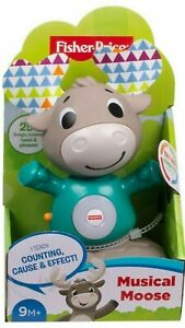 Fisher-Price Linkimals MUSICAL MOOSE * Light and Sounds ! *
