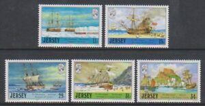 Jersey - 1987, Jersey Adventurers, 2nd Serie Set - MNH - Sg 417/21