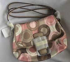Coach SoHo Snaphead Flap Crossbody Pink Multicolor Bag F46788 - New