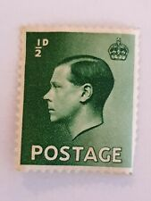 Abdication, 1936 Edward Viii (8th) Inverted Watermark ½d Green Excellent unused