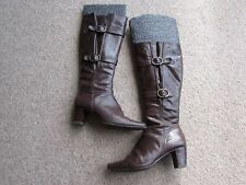 Clarks Buckle Knee High Boots for Women