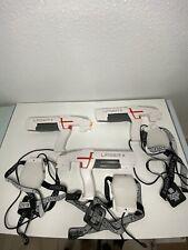 Laser X Set of 3 - Player Laser Gaming Set Indoor/Outdoor LAZER TAG GUNS