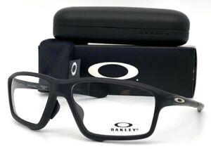 OAKLEY Crosslink Zero OX8080-0758 Stain Black/ Demo Lens 58mm Eyeglasses