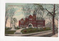 Spaulding High School Barre Vermont 1917 Postcard USA 337a
