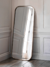 Cox & Cox Living Room Modern Burnished Silver Full Length Mirror - RRP £225