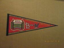 MLB Busch Stadium Inaugural Season 2006 Cardinals Brewers Opening Series Pennant