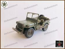 """U.S. Army Jeep Willys  """"Pull Back Action"""" 1/32 Diecast Model"""
