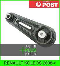 Fits RENAULT KOLEOS Left Hand Lh Engine Motor Mount Rubber