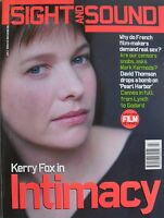 KERRY FOX in INTAMACY July 2001 Sight & Sound CANNES 2001  PEARL HARBOR