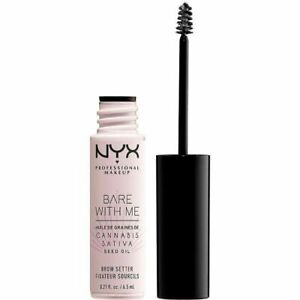 NYX BARE WITH ME Can*nabis Sativa Seed Oil Brow Setter 6.5ml/.21oz New Sealed