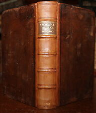 1715 The COMICAL Works of Don Francisco de QUEVEDO Author of Visions Binding